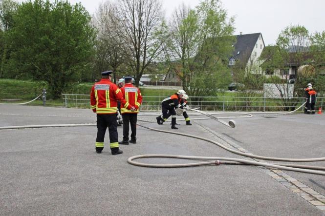 Leistungsprüfung der Freiwilligen Feuerwehr Ellenbach 2016