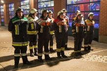 Gruppenbild der Prüfungsteilnehmer der Feuerwehr Ellenbach.